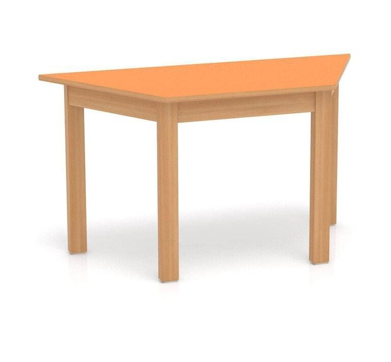 Dětský stůl Fantasy lichoběžník, 1200 mm