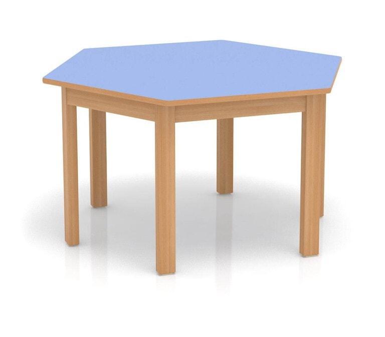 Dětský stůl Fantasy šestiúhelník, 1200 mm