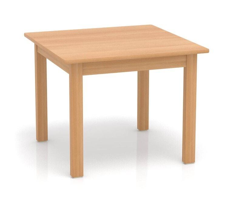 Dětský stůl Fantasy čtvercový, 80 cm