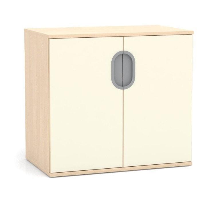 Nízká skříňka Fantasy s dveřmi, 800 mm