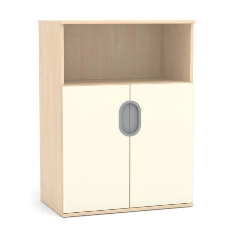 Vysoká skříňka Fantasy, dveře, police, 800 mm