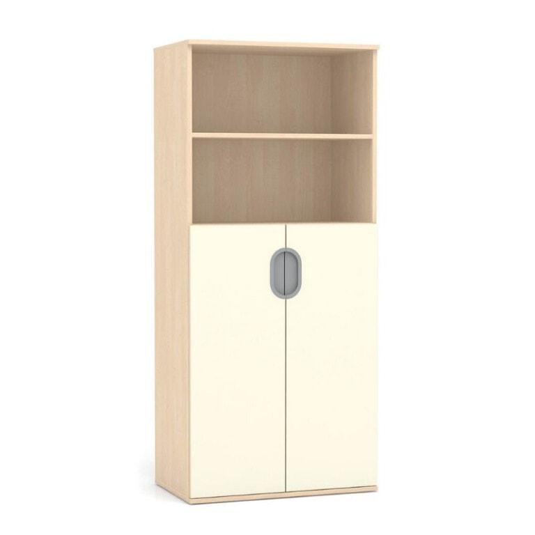 Vysoká skříň Fantasy, dveře, 2x police, 800 mm