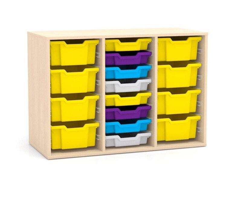 Nízká skříňka Fantasy, vodicí lišty pro boxy, 1049 mm_2