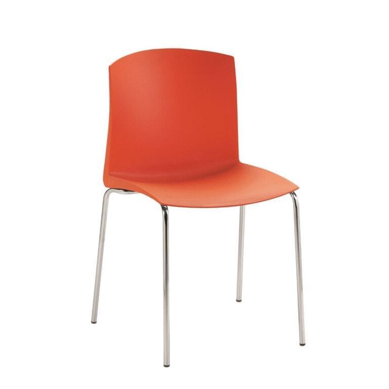 Plastová jídelní židle Pull