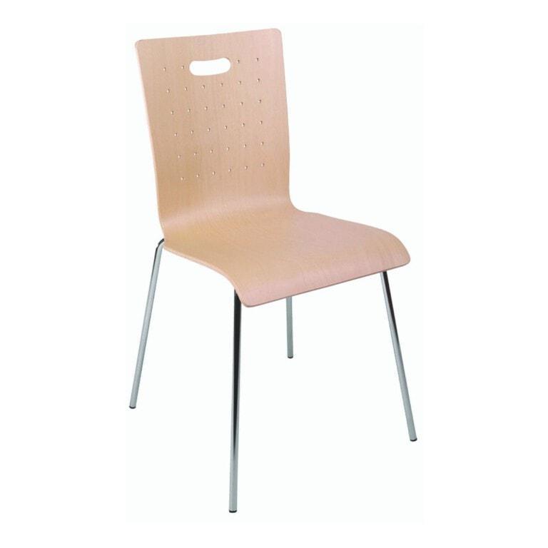 Překližková jídelní židle Tulip