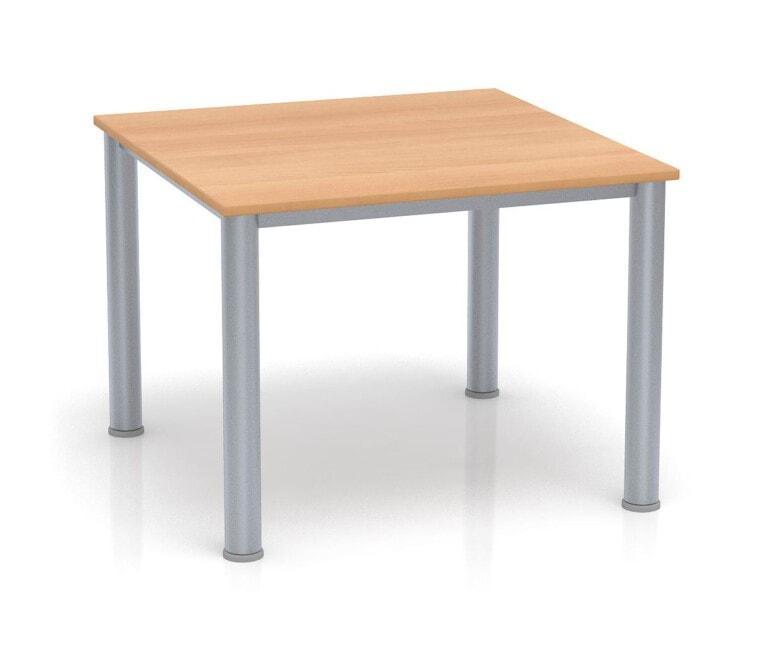 Dětský stůl Fantasy čtvercový, výška 600 - 710 mm buk