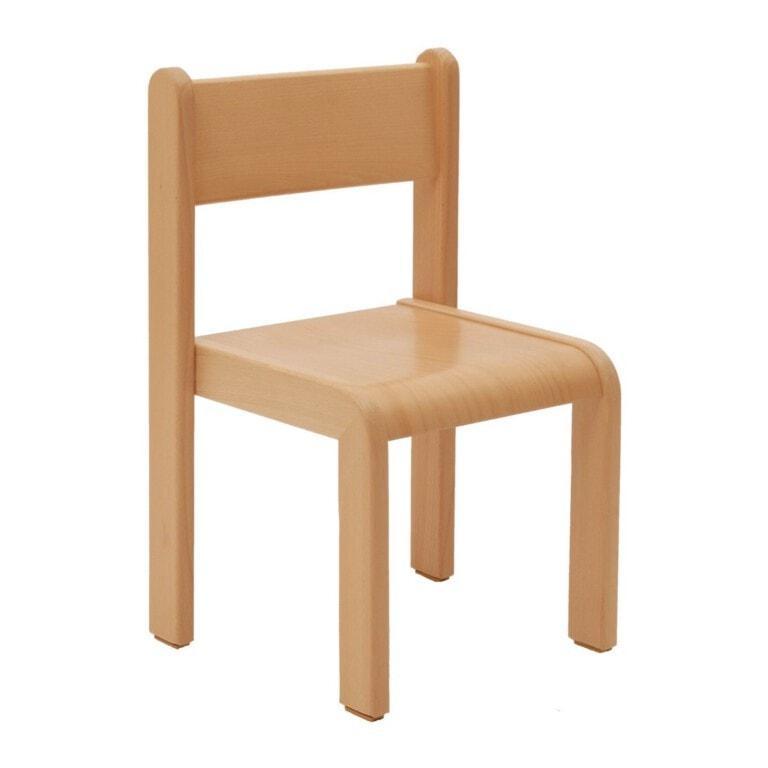 dětská dřevěná židle Viki přírodní buk