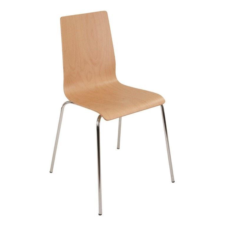 Překližková jídelní židle Lilly