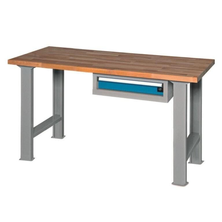 Stůl do dílny se zásuvkou - dílenský stůl