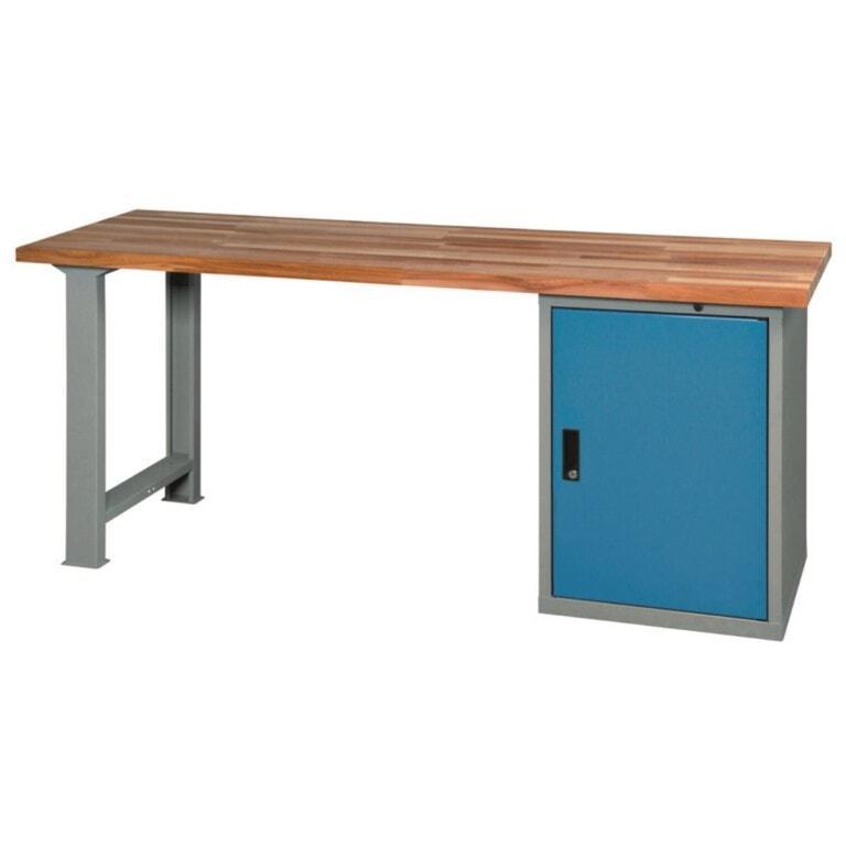 Stůl do dílny se skříňkou - dílenský stůl