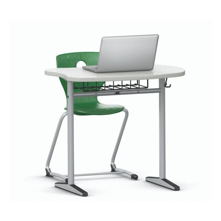 Jednomístná školní lavice Vision, 797 mm