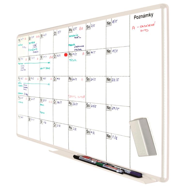 plánovací tabule měsíční